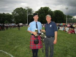Andrew Hayes, Professional Piper of the Day