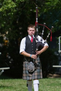 Tyler Johnson, Amateur Piper of the Day